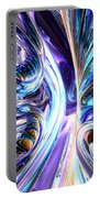 Tide Pool Abstract Portable Battery Charger