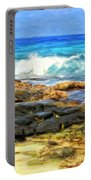 Tide Pools At Magic Sands Portable Battery Charger