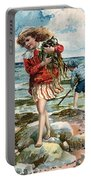 Tide Pools At The Beach Portable Battery Charger
