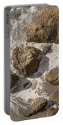 Tide Pools Of Shell Beach California Portable Battery Charger