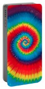 Tie Dye Portable Battery Charger