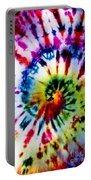 Tie Dyed T-shirt Portable Battery Charger