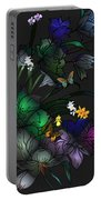 Tiffany Floral Design Portable Battery Charger