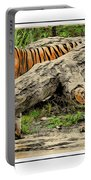 Tiger By The Log Portable Battery Charger