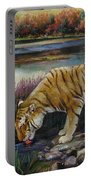 Tiger By The River Portable Battery Charger