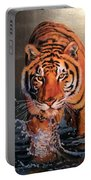 Tiger Crossing Water Portable Battery Charger