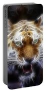 Tiger Greatness Digital Painting Portable Battery Charger
