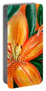 Tiger Lily Trio Portable Battery Charger