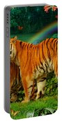 Tiger Love Tropical Portable Battery Charger