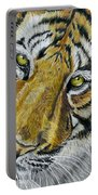 Tiger Painting Portable Battery Charger