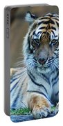 Tiger Posing Portable Battery Charger