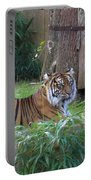 Tiger Resting Portable Battery Charger