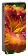Tigger Daylily Portable Battery Charger