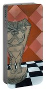 Tiki Statue Art Portable Battery Charger