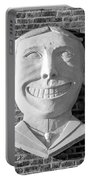 Tillie Of Coney Island In Black And White Portable Battery Charger