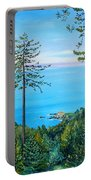 Timber Cove On A Still Summer Day Portable Battery Charger