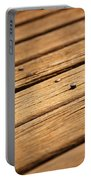 Timber Decking Portable Battery Charger