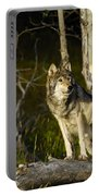 Timber Ghost Wolf Portable Battery Charger