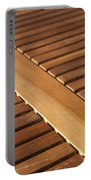 Timber Slats Portable Battery Charger