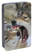 Timber Wolves Play Portable Battery Charger