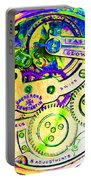 Time In Abstract 20130605m144 Square Portable Battery Charger