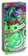 Time In Abstract 20130605m72 Square Portable Battery Charger