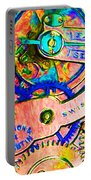 Time In Abstract 20130605p180 Portable Battery Charger