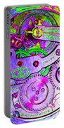 Time In Abstract 20130605p72 Square Portable Battery Charger