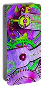 Time In Abstract 20130605p72 Portable Battery Charger