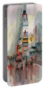 Time Square New York Portable Battery Charger