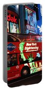 Time Square Portable Battery Charger