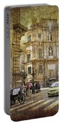 Time Traveling In Palermo - Sicily Portable Battery Charger