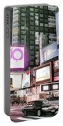 Times Square At Night Portable Battery Charger