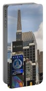 Times Square Color Portable Battery Charger