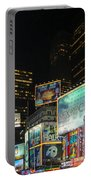 Times Square In 2010 Portable Battery Charger