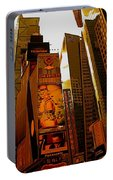 Times Square In Manhattan Portable Battery Charger