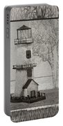 Tin Lighthouse Art Portable Battery Charger