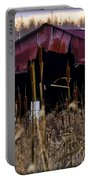 Tin Roof Rusted Portable Battery Charger by Bill Cannon