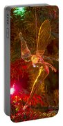 Tinker Bell Christmas Tree Landing Portable Battery Charger