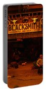 Tinkertown Blacksmith Shop Portable Battery Charger by Jeff Swan