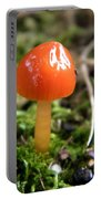 Tiny Orange Mushroom Portable Battery Charger