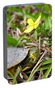 Tiny Turtle Close Up Portable Battery Charger