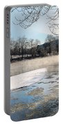 Tioughnioga River Landscape Portable Battery Charger