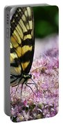 Tip Toe Through The Flowers Portable Battery Charger