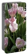 Tip Toe Through The Tulips Portable Battery Charger