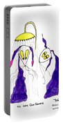 Tis Long Cold Shower Portable Battery Charger by Tis Art