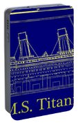 Titanic By Design Portable Battery Charger