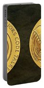 Tlingit Tribe Code Talkers Bronze Medal Art Portable Battery Charger