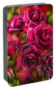 To Be Loved - Red Rose Portable Battery Charger