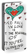 To Fall In Love Portable Battery Charger
